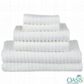 Designer White Organic Spa Towels