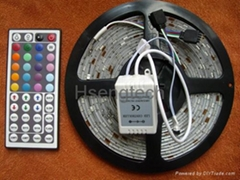 LED Strip 5050 Waterproof with Power Adapter Remote Color Colorful LED Strip (Hot Product - 1*)