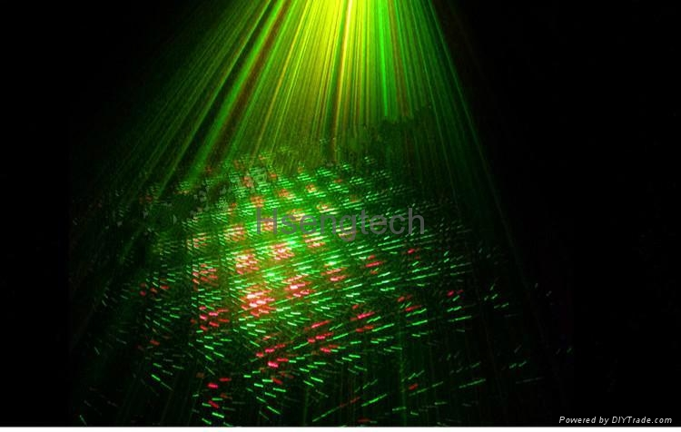 MINI Laser Stage Lighting Projector with MP3 Music Voice Control Remote Control 5