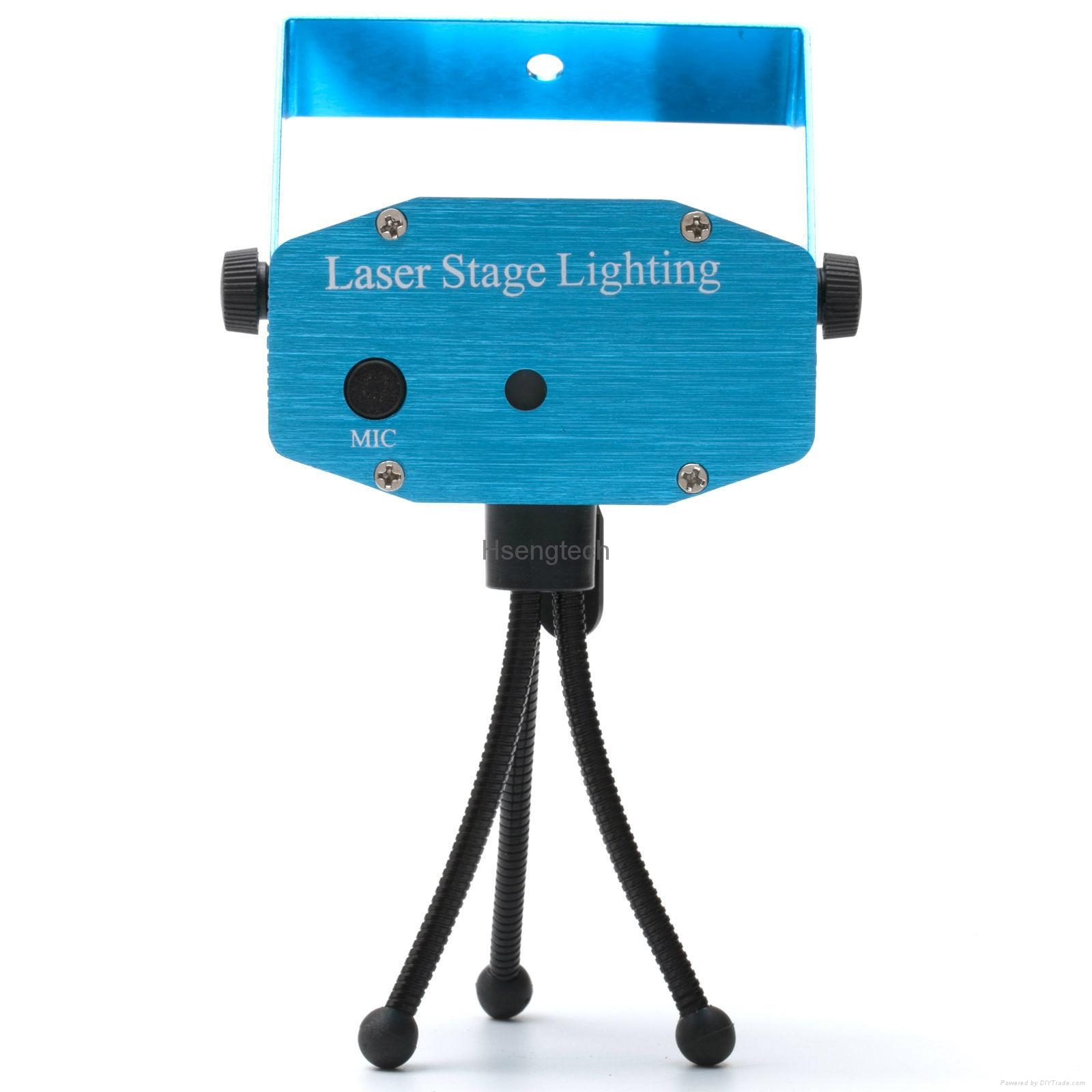 MINI Laser Stage Lighting Projector with MP3 Music Voice Control Remote Control 16