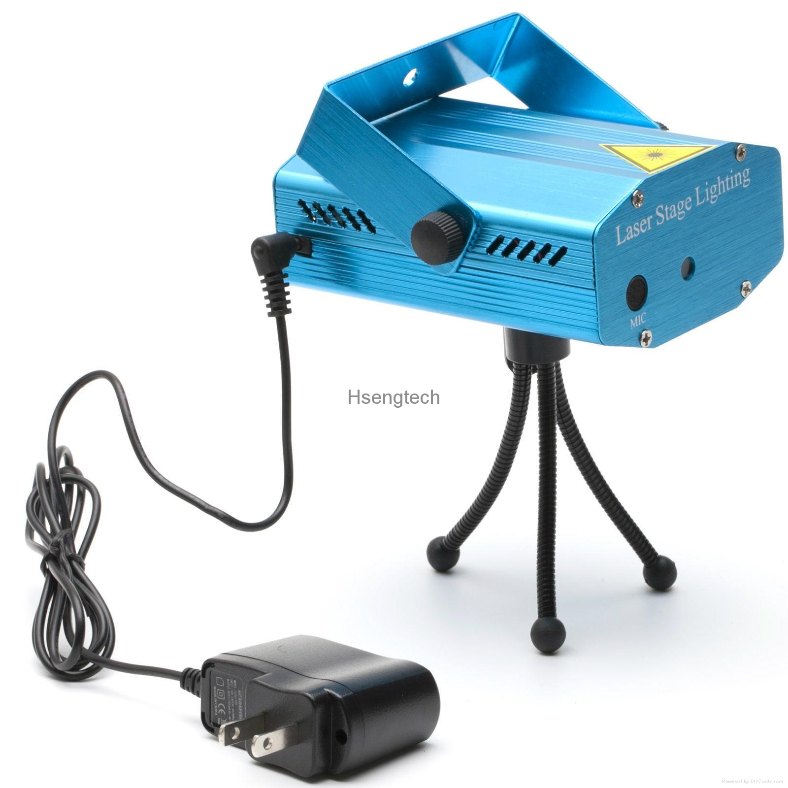 MINI Laser Stage Lighting Projector with MP3 Music Voice Control Remote Control 17