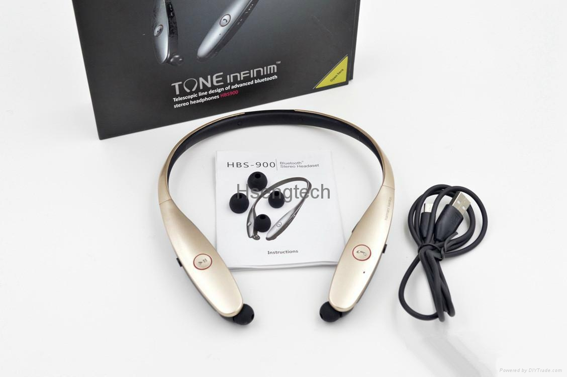 HBS 900 HBS-900 Tone+ Wireless Sport Neckband Headsets In-ear Headphone Wireless 12