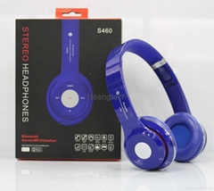 Headband Bluetooth Headphone S460 Strong Bass Wireless Headset Earphone