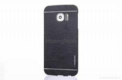 Colorful Motomo Metal Aluminium Alloy Hard Case for Samsung Galaxy S6 Edge Plus