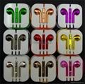 Colorful Electroplate Earphone Shining