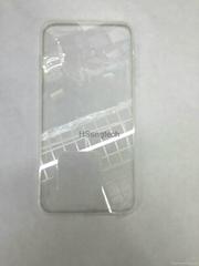 Ultra Thin TPU+PC Transparent Bumper Case for iPhone 6 6s iPhone 6 Plus