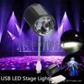 USB Stage Light MINI Light Color Party