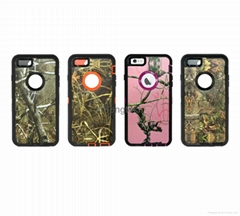 Camo Real Tree Realtree Defender Robot Camo Defender Case for iPhone 4s 5s 6s S6