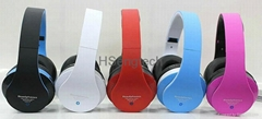 STN-12 Stereo Headphones Bluetooth HD Headset Handsfree FM Radio MP3 Player