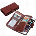 2 in 1 Magnetic Flip Leather Detachable