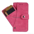 Leather Wallet Case with Credit Card Slot Photo Frame Slot Leather Wallet Case with Credit Card Slot Photo Frame Slot