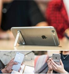 Universal Metal Kickstand Mobile Phone Ultra-thin Magnetic Stent Stand Spigen
