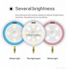 Universal 2 in 1 Selfie Speaker Spotlight Portable MINI Small Beauty Speakers