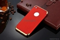 3 in 1 PC Back Cover Case Shell Matte Black Frosted Shockproof Armor Protector