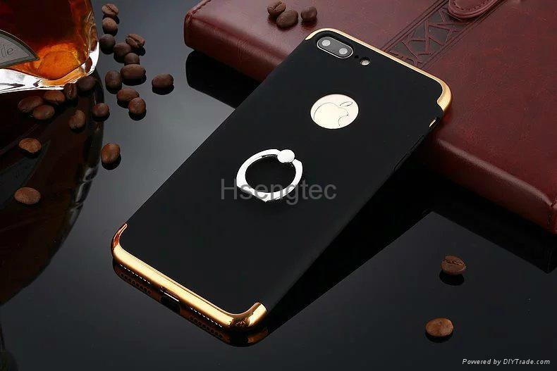 3 in 1 PC Back Cover Case
