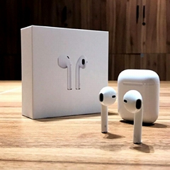 Pop Up Window TWS 1:1 Airpods Wireless Earbuds Super Bass Animation Headset
