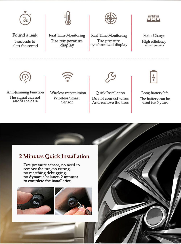 internal external car auto tire pressure monitor sensor tmps monitoring system ct1 hseng. Black Bedroom Furniture Sets. Home Design Ideas