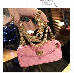 Candies Cliche Luxury Fashion Long Strap Lanyard Shoulder Bag Purse Wallet Case