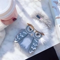 Fur Monster Owl Cartoon Furry Phone Case Kate Spade Cellphone Cover for iPhone X