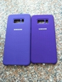 Silky and Soft Touch Finish Silicone Cover for Samsung S8 S9 Plus Note8 iPhoneX 12