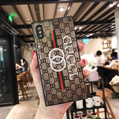Luxury Brand GG Gucci GUCCL Gucc Tempered Glass Gloss Phone Cover Case Shell