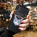 Luxury Brand Guccy Phone Case Cat