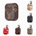 Luxury LV Leather Airpods Case Plaid