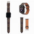 iWatch LV Watch Band Flower Print LV