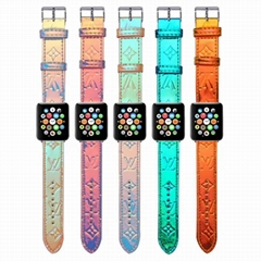 Gradient    Leather iWatch Band