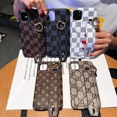 Luxury Louis Vuitton Wristband Bracelet Wallet Clutch Checkerboard Plaid Shell