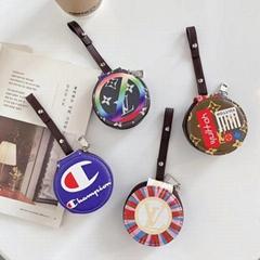 Luxury Designer Case               Pouch Bag for TWS Airpods 2 Pro Champion Case