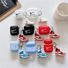 3D      Sneaker Case for TWS Apple Airpods2 Pro Wireless Earphone Pendant Pouch