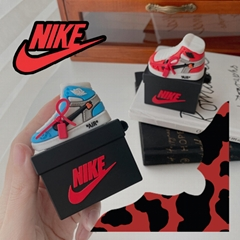 3D      Air Jordan Box Case for Airpods2 Pro Sports Sneaker Storage Bag Cover