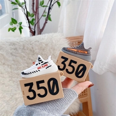 3D        Yeezy 350 Shoes Storage Box Cover for Airpods2 Pro Sneaker Pouch Case