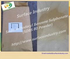 Sodium Dodecyl Benzene Sulphonate 80% SDBS Powder for Washing Powder