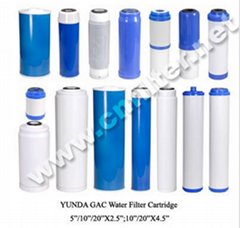UDF Granular Activated Carbon Water Filter Cartridge