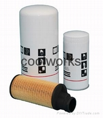 Atlas Copco Air Compressor Parts Replacement Filter Oil Filters