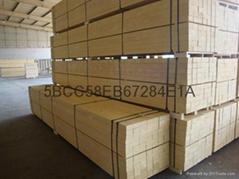 包装用lvl免熏蒸8米长lvl顺向板包装单板