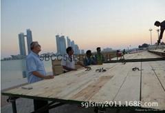 优质防腐建筑用松木lvl脚踏板供应
