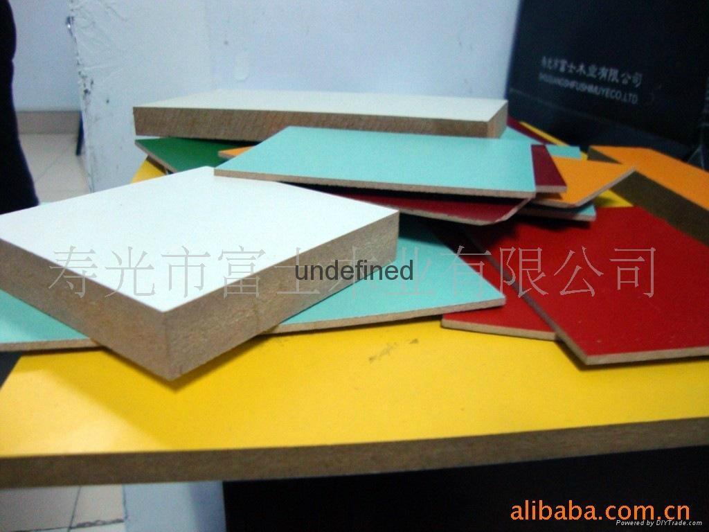 中高密度板 MDF贴面密度板系列4-8尺供应 5