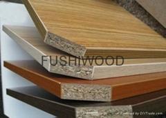 高质量E1级刨花板贴面刨花板 osb板