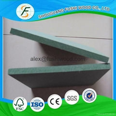 12mm 15mm 18mm密度板绿色防潮密度板