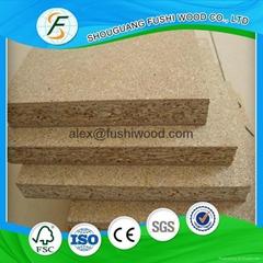优质E1级刨花板 高质量贴面刨花板