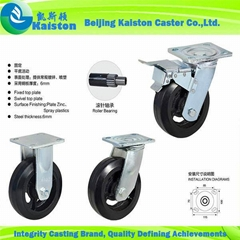 KI1129 Kaiston Heavy duty Rubber Castors