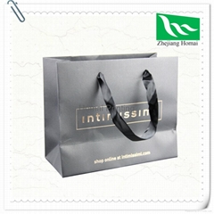 Kraft Paper Bag With Handles Shopping Packaging brown paper bag