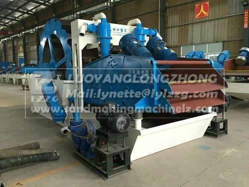 LZZG brand sand washing & recycling machine LZ30-65 for exporting 1