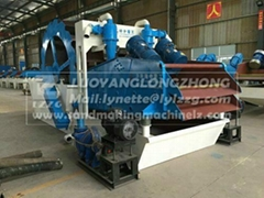 LZZG brand sand washing & recycling machine LZ30-65 for exporting