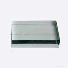 safety green glazing tempered glass with two advanced tempering lines