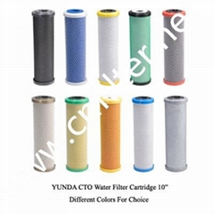 carbon activated water filter cartridge(CTO)