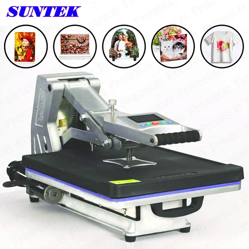 Drawer type hydraulic heat press machine for t shirts st for T shirt printing machine suppliers